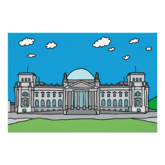 Reichstag building in Berlin Photograph