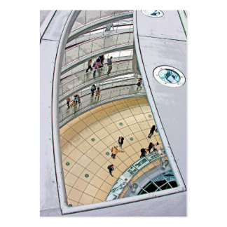 Reichstag / Bundestag,Interior Walkway, Berlin Pack Of Chubby Business Cards