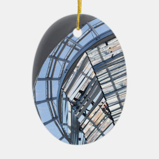 Reichstag Mirrored Dome - Berlin Christmas Ornament