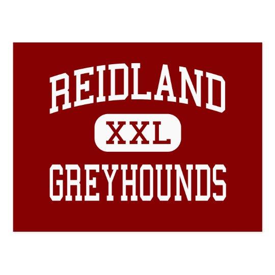 Reidland - Greyhounds - High - Paducah Kentucky Postcard