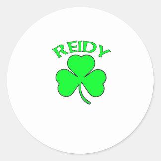 Reidy Round Sticker