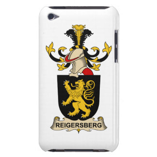 Reigersberg Family Crest Case-Mate iPod Touch Case