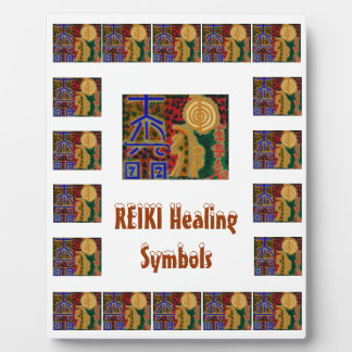 REIKI 8x10 With Easel Plaque