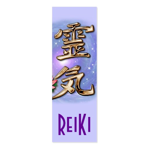 ReiKi Bookmarks Business Card