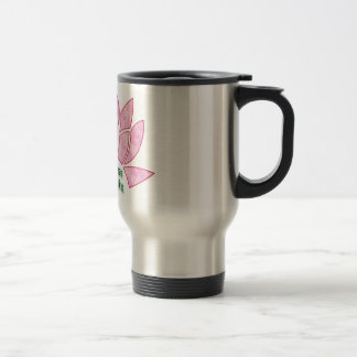 Reiki Brings Peace Lotus Travel Mug
