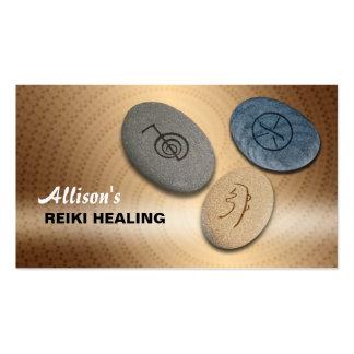 Reiki business cards