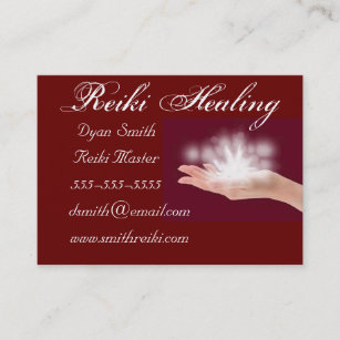 For reiki practitioners business cards business card printing reiki business cards reheart Gallery