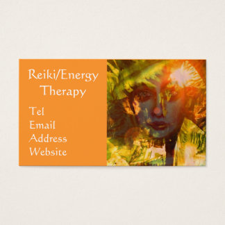 Reiki/Energy Therapy Business card