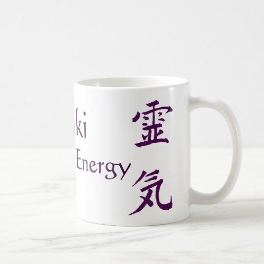 Reiki Feel The Energy Coffee Mug