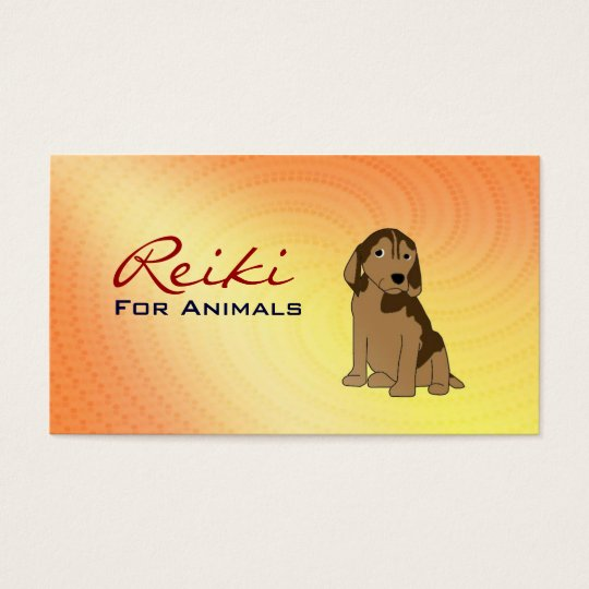 Reiki for Animals Business Cards