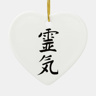 Reiki from the Heart Christmas Ornament
