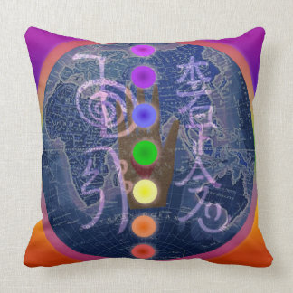 Reiki Globe Chakra Pillow