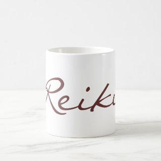 REIKI / GOLD, REIKI / GOLD, Reiki Basic White Mug