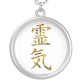 REIKI / GOLD SILVER PLATED NECKLACE