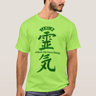 Reiki Green T-Shirt