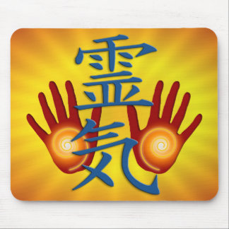 Reiki Hands Mouse Mat