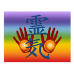 Reiki Hands Postcard