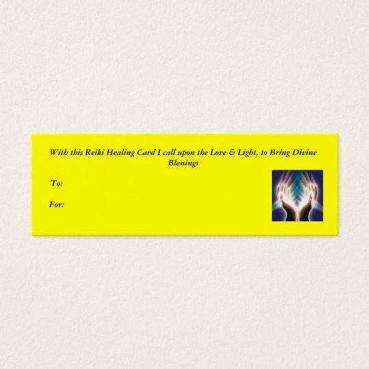 Reiki Healing Card