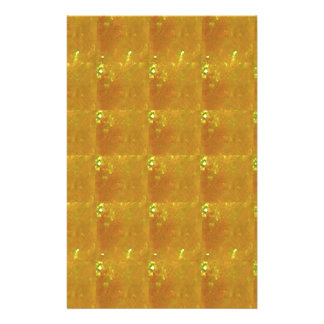 REIKI Healing Gold : Symbols Signs CRYSTAL Gold Stationery