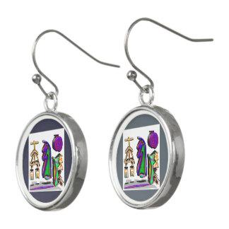 REIKI Healing Masters Symbols Earrings