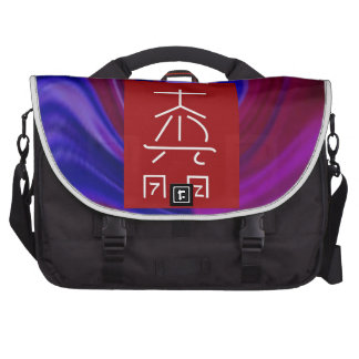 Reiki Healing Symbol TEMPLATE Replace Background Computer Bag