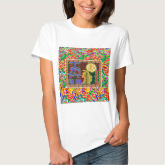 Reiki Healing Symbols Decorative Art Shirt