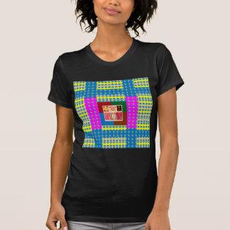 REIKI Healing Symbols on Full Energy Mandala Color Tshirts