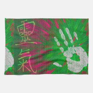 Reiki - Healings Hand Tea Towel