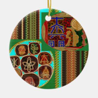REIKI Karuna Healing Symbols Vintage CARE GIFTS 99 Christmas Ornament