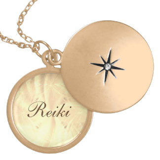 Reiki Locket Necklace
