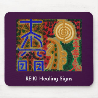 REIKI Main Healing Symbols3 Mouse Pad