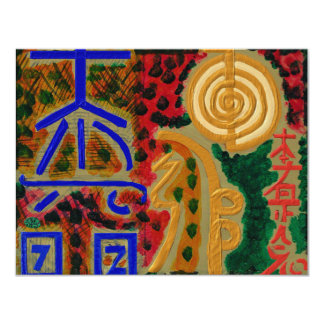 REIKI Main Healing Symbols Invitations