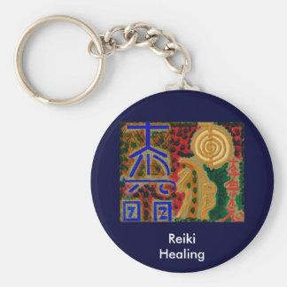REIKI Main Healing Symbols Key Ring