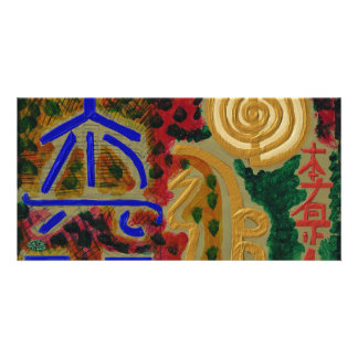 REIKI Main Healing Symbols Picture Card