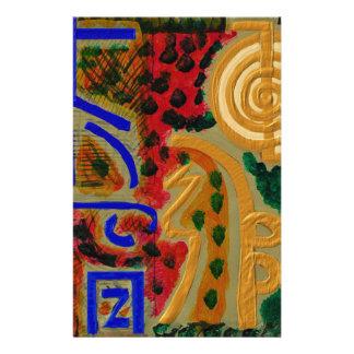 REIKI Main Healing Symbols Stationery Paper