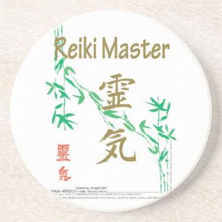 Reiki Master Beverage Coasters