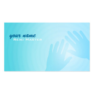 Reiki Master Business Cards