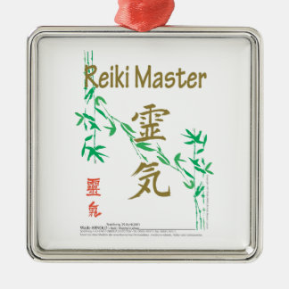 Reiki Master Christmas Ornament