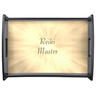 Reiki Master design Serving Tray