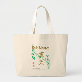 Reiki Master Large Tote Bag