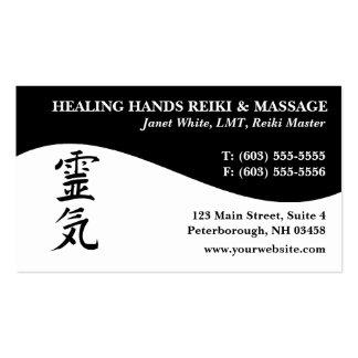 Reiki Master Practitioner Business Cards