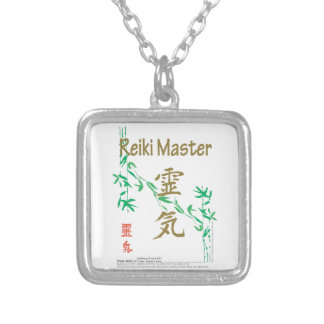 Reiki Master Silver Plated Necklace