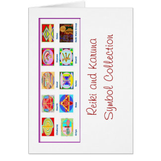 Reiki Master Tools - Symbols n Giveaways Card