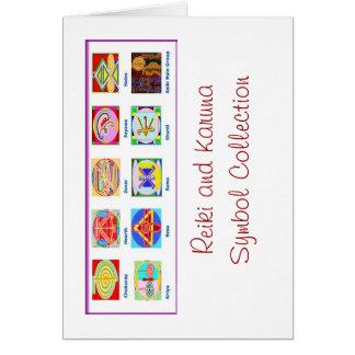 Reiki Master Tools - Symbols n Giveaways Card