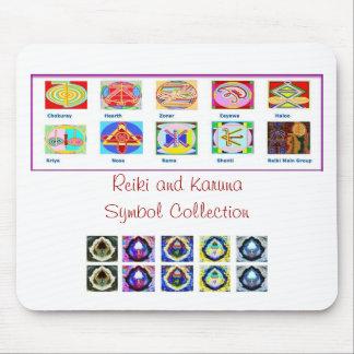 Reiki Master Tools - Symbols n Giveaways Mouse Pad