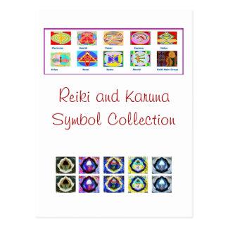 Reiki Master Tools - Symbols n Giveaways Postcards