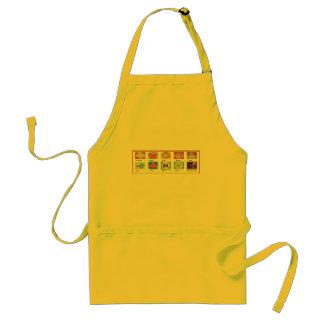 Reiki Master Tools - Symbols n Giveaways Standard Apron