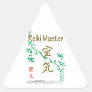 Reiki Master Triangle Sticker