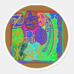 REIKI n Karuna Healing Signs Sticker