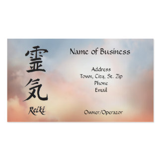 Reiki Personal or Business Card